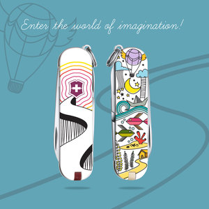 Enter the world of imagination with victorinox :D