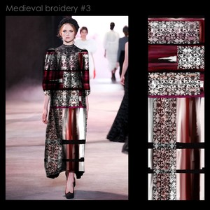 Medieval broidery