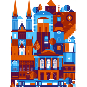 Various City Illustrations