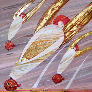 Guardian Angels paintings