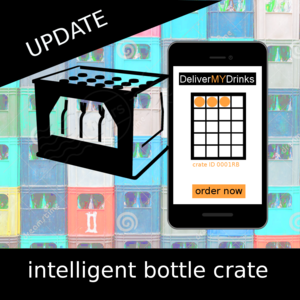 intelligent bottle crate