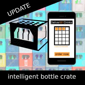 intelligent bottle crate