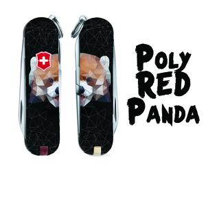 Poly Red Panda