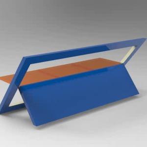 Single sheet bench