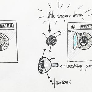 Little washer drum