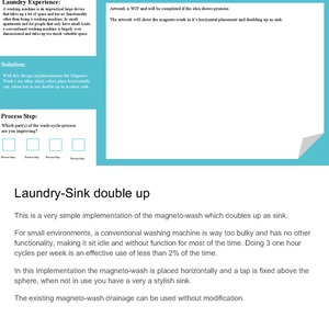 Laundry-Sink Double up