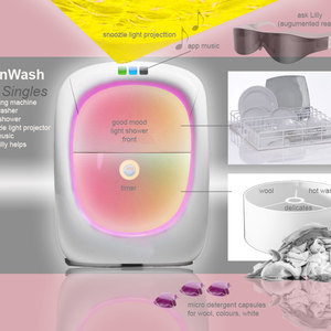 SunWash for Singles - combined washing and light simulation