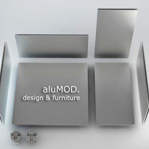AluMOD. - modular design elements and furniture