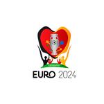 Logo for the European Football Championship 2024.