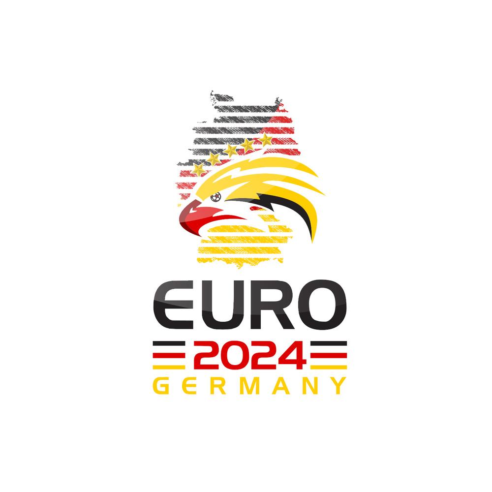 jovoto euro 2024 logo aim shoot score your 2024 bid logo