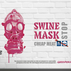 Swine mask (Paranoiac-Critical Method)