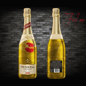 Take a break with someone wonderful and drink a Henkell