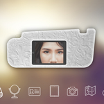 Your personal sun visor