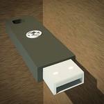 USB-to-speaker combo