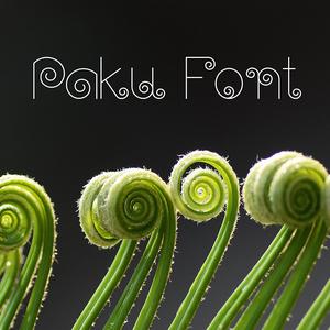 Paku Font